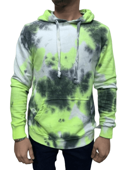 SWEAT A CAPUCHE MULTICOLORE - HOMME