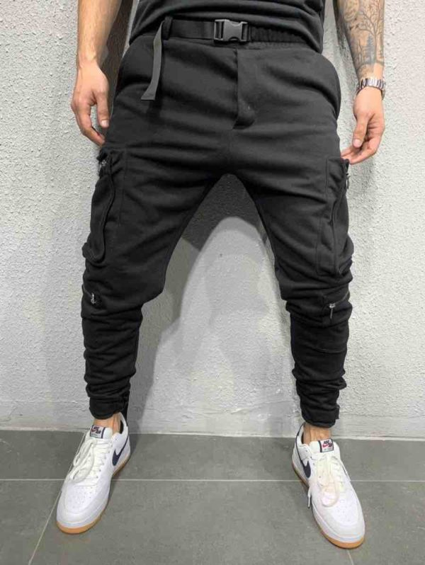 jogger pants noir homme