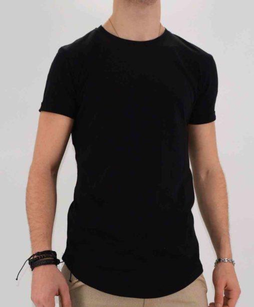 Tee shirt homme - tee shirt oversize noir - Mode Urbaine