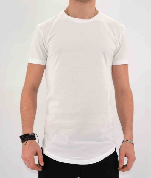 T-SHIRT OVERSIZE BLANC HOMME