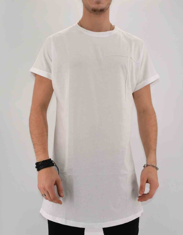 T SHIRT OVERSIZE BLANC HOMME