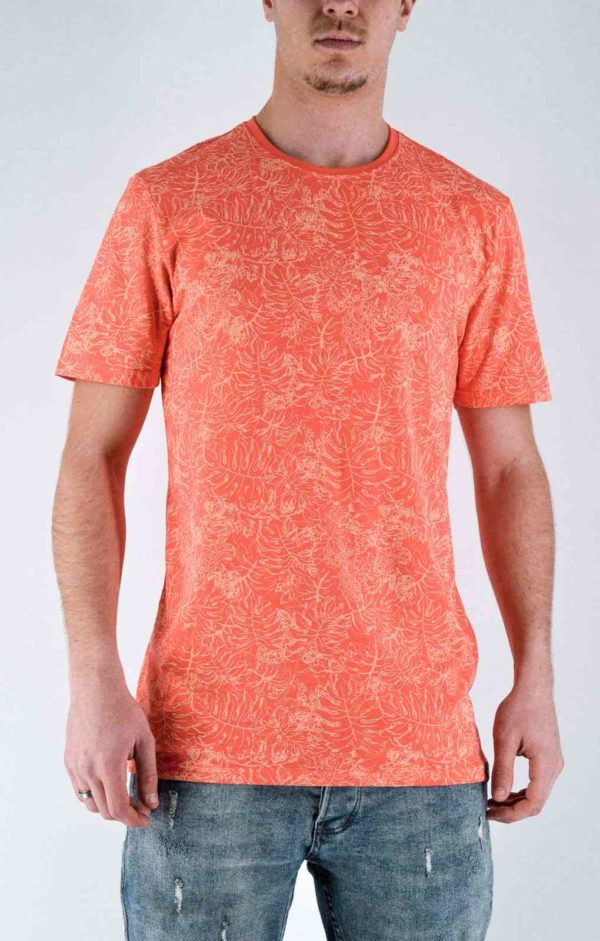 Only&sons - t shirt Orange tee shirt