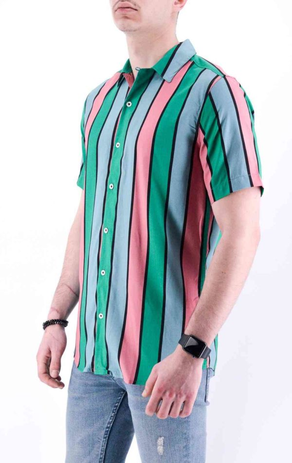 Only and sons CHEMISE A RAYURE MANCHE COURTE HOMME
