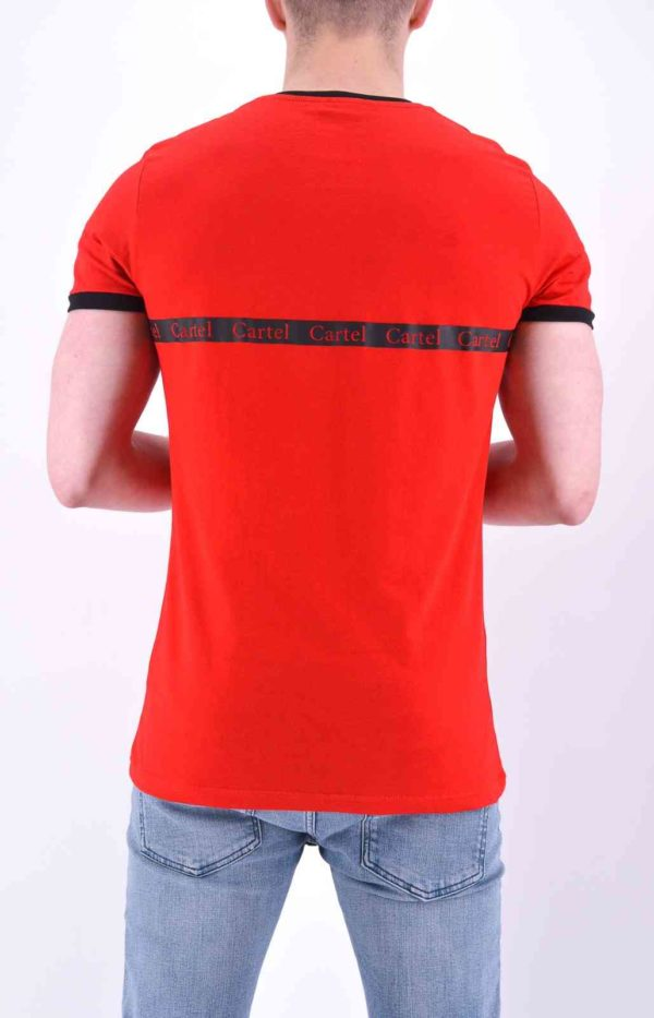 TEE SHIRT ROUGE CARTEL