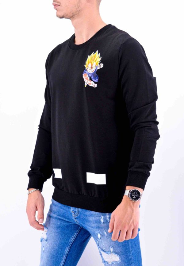 PULL SWEAT DRAGON BALL Z VEGETA – MODE URBAINE