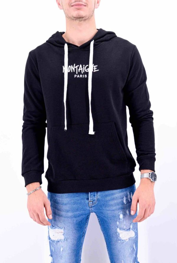 SWEAT MONTAIGNE PARIS NOIR