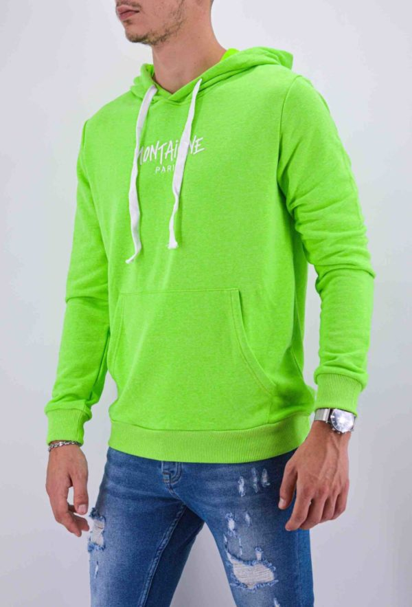SWEAT MONTAIGNE PARIS VERT