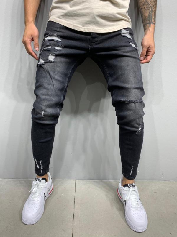jean homme skinny noir homme
