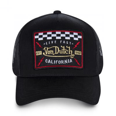 casquette von dutch-BLACKY4B