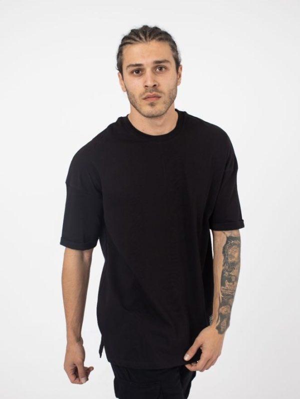 tee shirt oversize noir