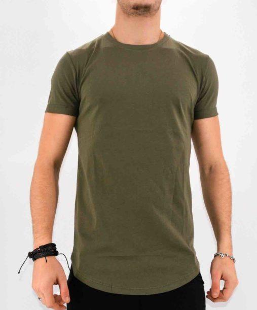 Tee shirt kaki oversize homme - Mode urbaine